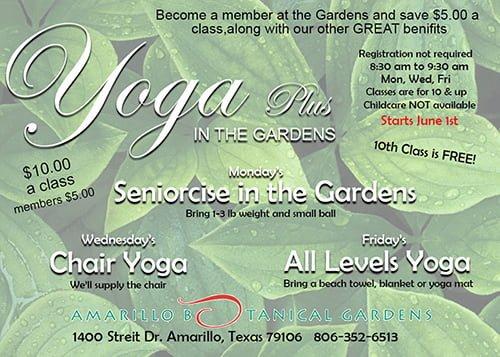 Yoga Plus In The Gardens @ Amarillo   Texas   United States
