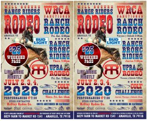 Will Rogers Range Riders Rodeo @ Amarillo | Texas | United States